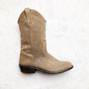 Steve Madden Cowboy Leather Rider Boot Size 7
